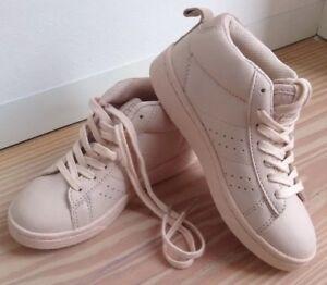 timeless design 82c75 a0e9f Details zu ZARA Girl Sneaker Turnschuhe Schnürschuhe Rosa Pastell Icecream  Color 29 30