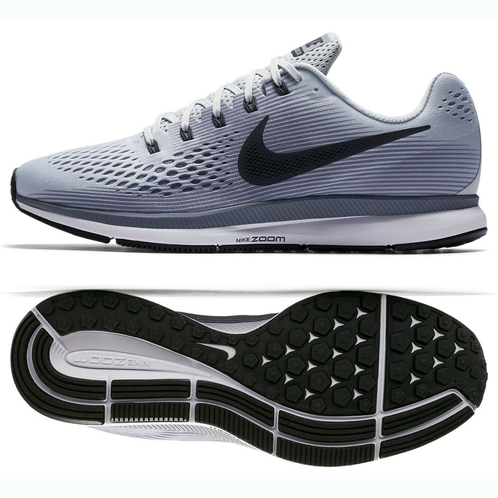 newest collection 31b33 f1177 ... cheapest nike air zoom pegasus 34 880555 010 pure negro platinum gris  negro pure zapatos corrientes