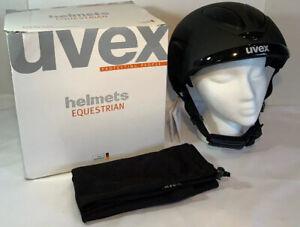 UVEX Ceravent Equestrian Glove • Sporty• Short Riding • Touchscreen • DurableNEW