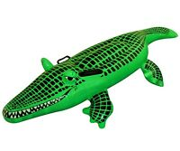 Inflatable Crocodile Fancy Dress Costume Beach Pool Toy Holiday Party Dundee