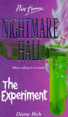 Nightmare Hall : The Experiment (Point Horror) by Diane Hoh (P/B 1996)