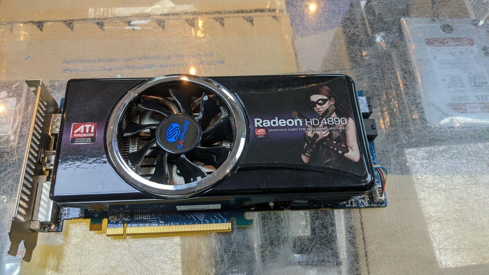 AMD ATI Radeon 4890 Graphics / Video Card 1GB GDDR5 PCI-E, Non Working Parts!