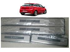 Premium Quality LED Sill Scuff Plates Footsteps for Hyundai i20 Elite