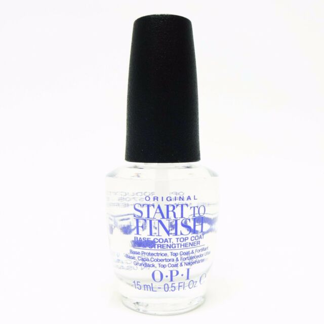 OPI 0. 5 Oz Start to Finish Base & Top Coat Strengthener No. NT T71 ...