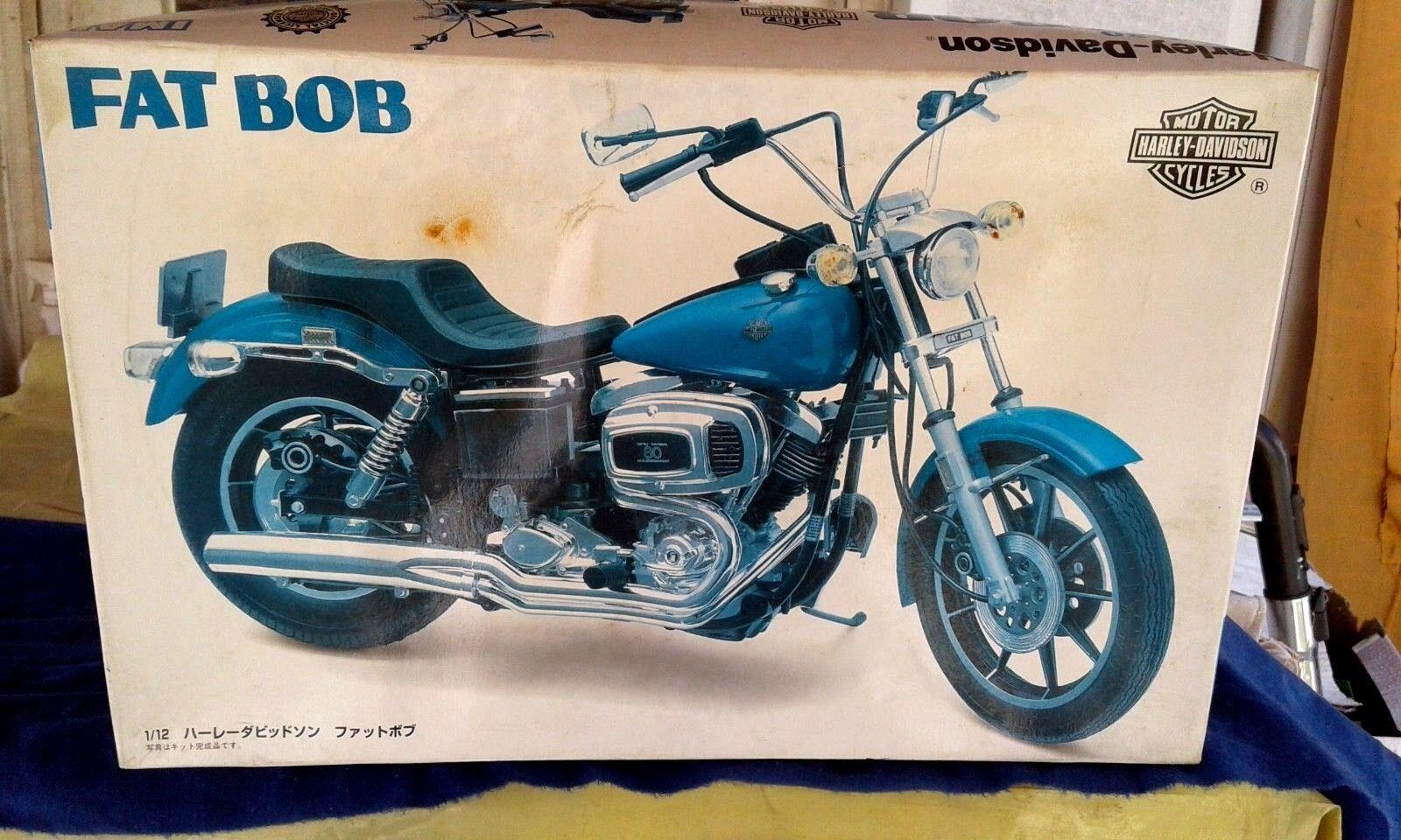 1 12 IMAI  kits, HARLEY DAVIDSON, FAT BOB, FXE  F80 ,very  rare
