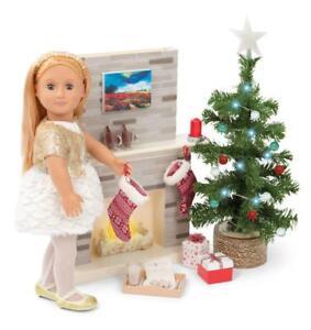 New Our Generation Holiday Celebration Set Christmas Tree