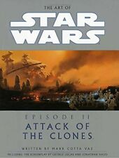 Attack of the Clones Episode 2 by Mark Cotta Vaz (2002, Hardcover)