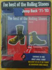 "ROLLING STONES ""Jump Back"" CD + T-Shirt Box Rare"