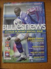 28/04/2002 Play-Off Semi-Final Division 1: Birmingham City v Millwall  (No appar