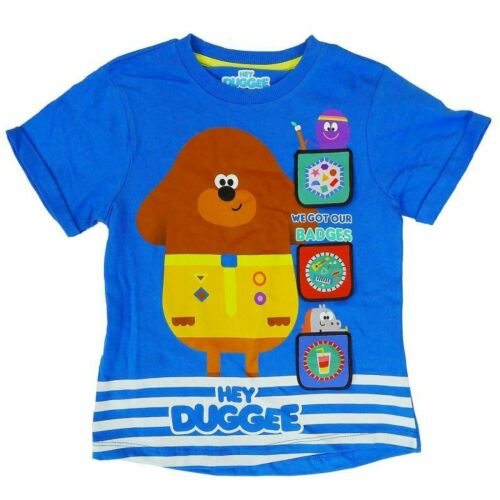 T-Shirt Ages 12-18M up to 5-6 Years NEW Top Boys HEY DUGGEE
