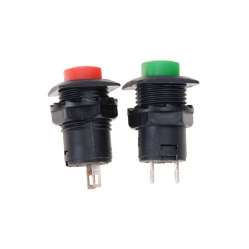 Hot Sale 12V Low Profile Momentary Round Push Button Switch Non Latching Ew