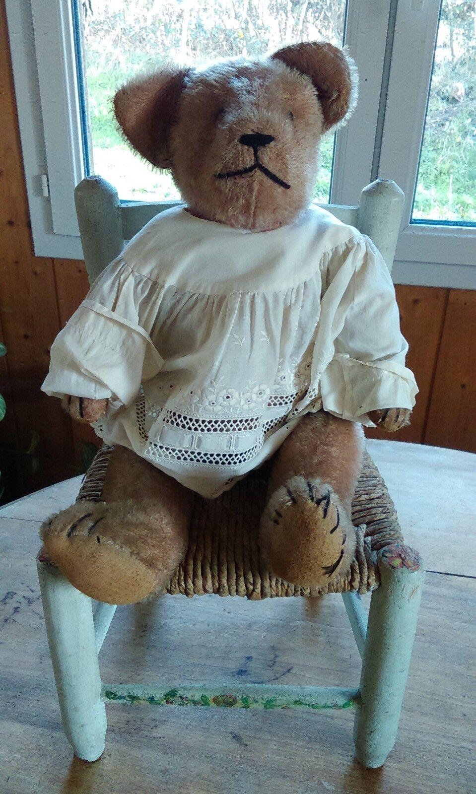 ANCIEN JOUET OURS Teddy bear 44 cm