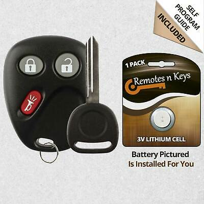 Car Transmitter Alarm Remote Key Fob Control for 2005 2006 Chevrolet Equinox