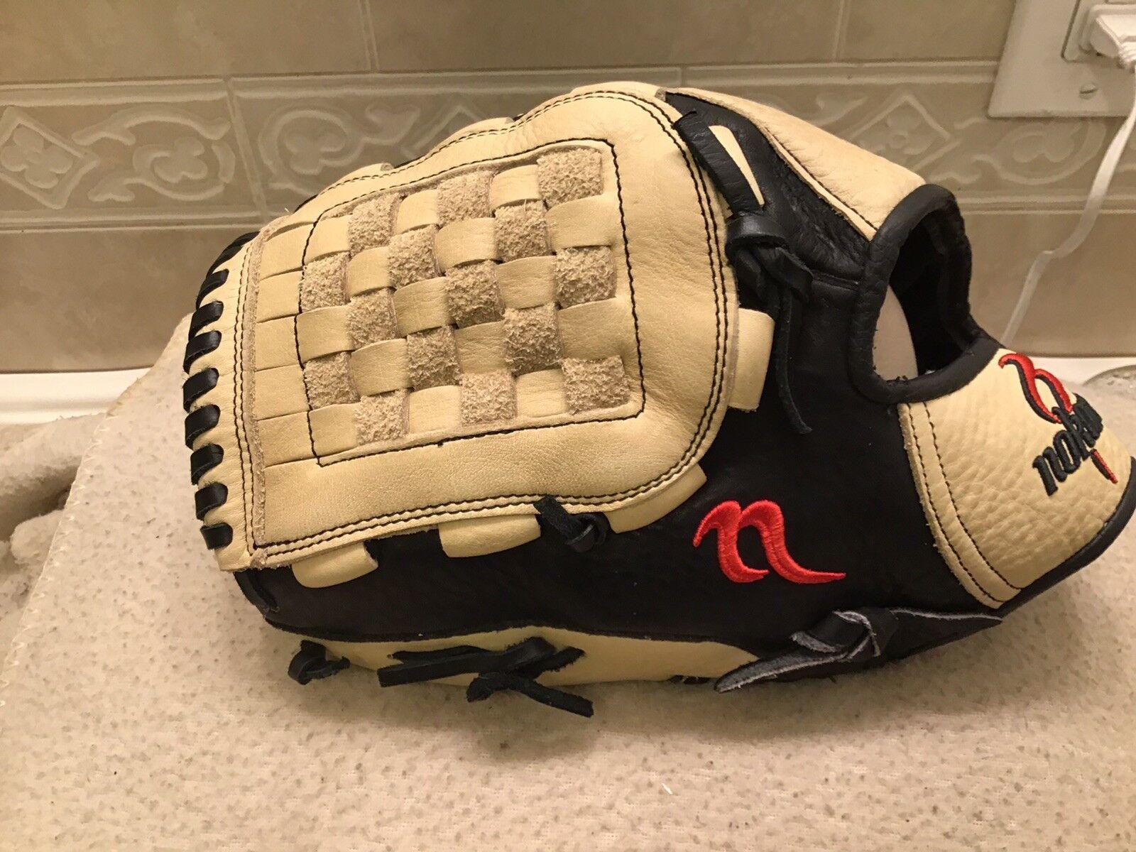 "Nokona Krome  NKK1251 NKK1251  12.5"" Baseball Softball Pitchers Glove Left Hand Throw cc22c5"