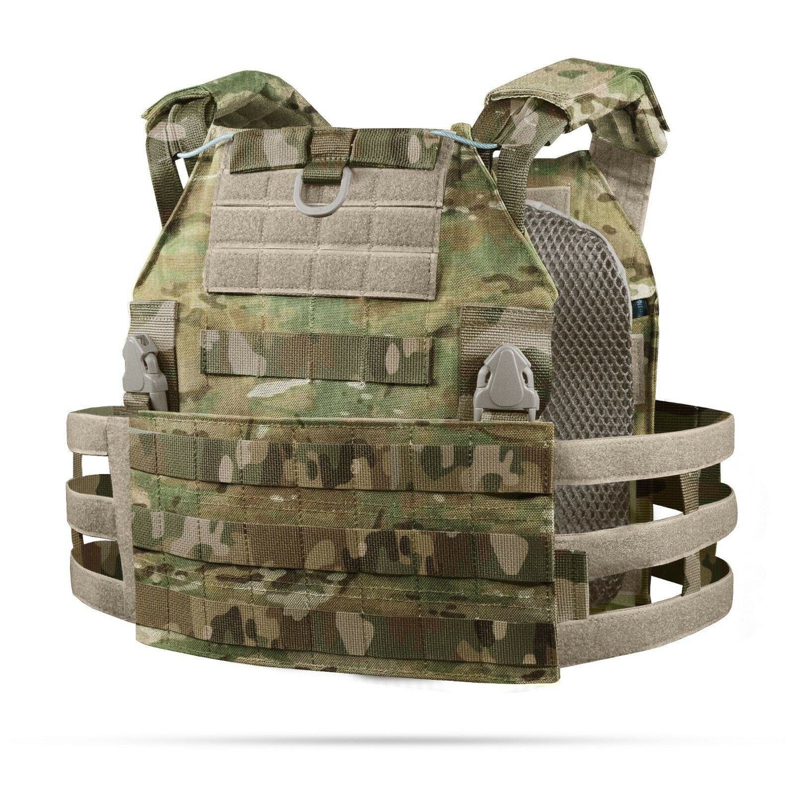 TACTICAL PLATE CARRIER VEST in MULTICAM  ( Also in other colors ) by STICH PROFI  official website