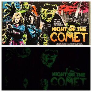 Night-Of-The-Comet-Zombies-Art-Print-Poster-Mondo-Horror-James-Rheem-Davis-Glows