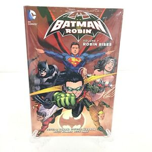 Batman-amp-Robin-Volume-7-Robin-Rises-35-40-DC-Comics-HC-Hard-Cover-New-Sealed