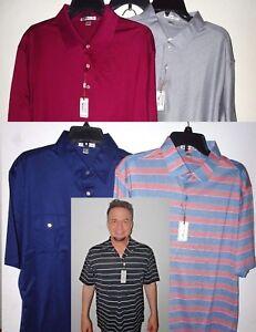 NEW-Peter-Millar-Mens-Casual-Polo-Shirt-Short-Sleeve-Golf-S-M-L-XL-2XL