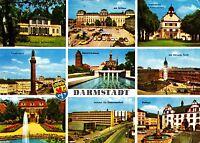 Darmstadt  , Ansichtskarte ; 1968 gelaufen