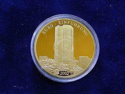 Radient Münze 60 J. Bundesrep. Deutschl., € Einführung 2002 Versilbert Bimetall? - 1761 Jahre Lang StöRungsfreien Service GewäHrleisten