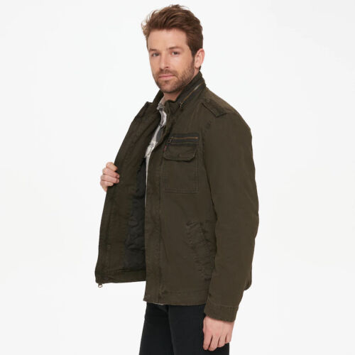 Levi/'s ~ Military Inspired Men/'s Insulated Utility Jacket $160 NWT