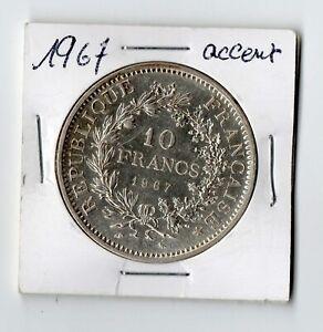 10-Francs-Argent-Hercule-1967-avec-accent