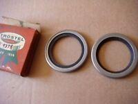 55 56 57 58 59 Chrysler Desoto Dodge Front Wheel Grease Seals