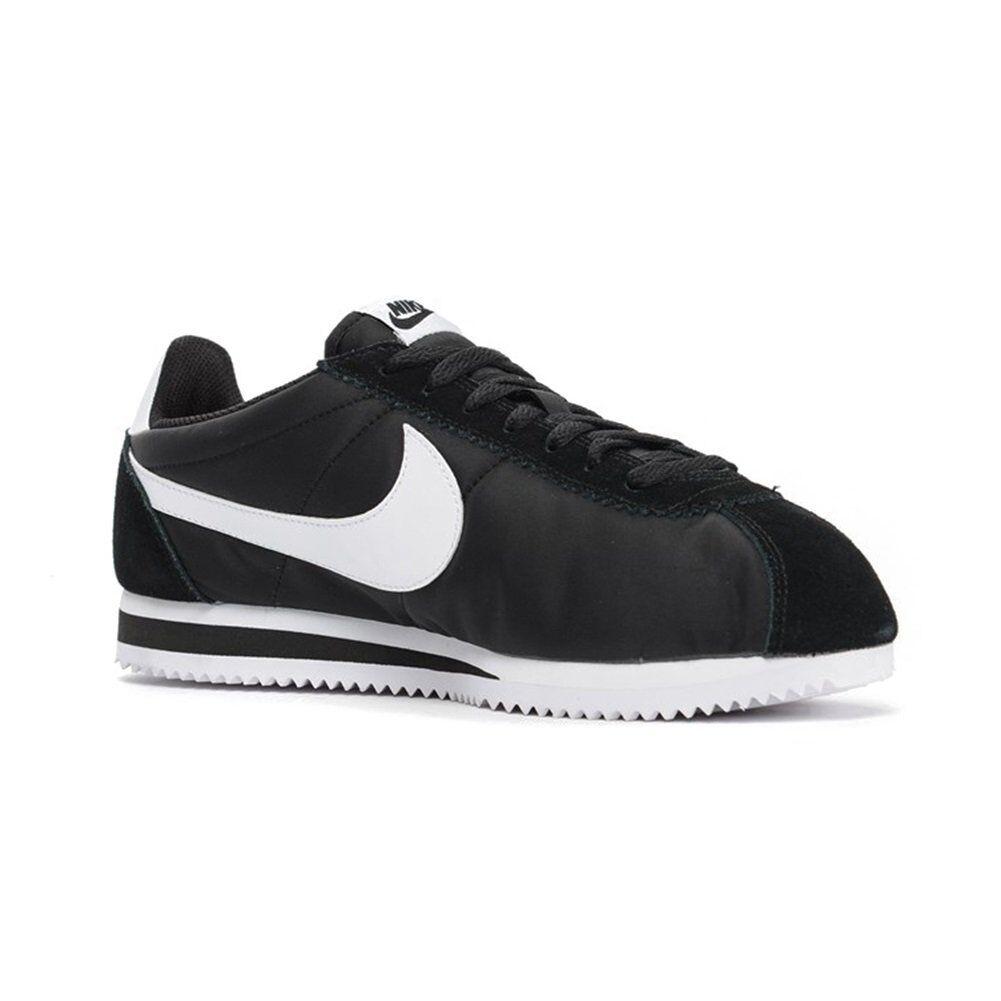 807472-011_Nike Shoes – Classic Cortez Nylon black/white_2016_Men_Nylon_Nuevo