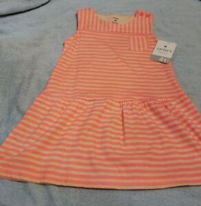 de072b31be9dc Carter's Striped Toddler Dress * Girl's Size 4T * Sleeveless * NWT