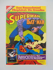Superman-Batman - Heft Nr. 23, Ehapa, Comic (mit Poster) / Z. 2-