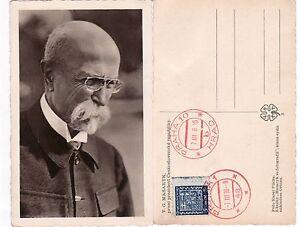 """CZECHOSLOVAKIA Tomáš Masaryk President Antique Postcard - France - État : Occasion : Objet ayant été utilisé. Consulter la description du vendeur pour avoir plus de détails sur les éventuelles imperfections. Commentaires du vendeur : """"bon état / good condition"""" - France"""