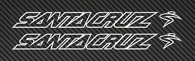 Santa Cruz Logo Vinyl Sticker Decal Car Window Mountain Bike mtb road