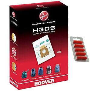 Details zu 5 x HOOVER H30S Purefilt Bags for Telios Vacuum Genuine H30 Super + Fresh