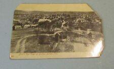 1908 Bird's Eye View Butler Pennsylvania RPPC Real Photo Postcard City Postmark