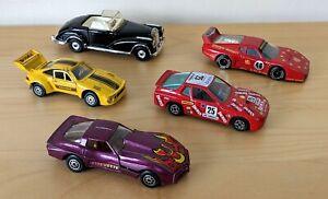 Vintage-Die-Cast-Car-Bundle-Corgi-Matchbox-Burango-Zylmax-1980s-10cm-14cm