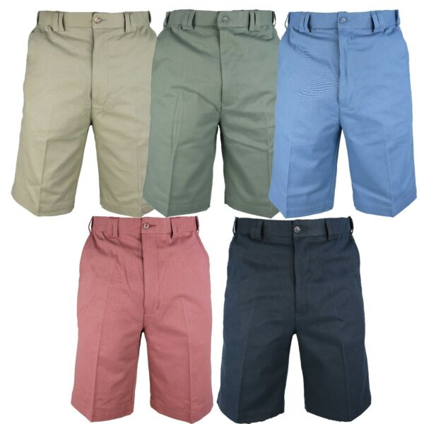 2019 Nuovo Stile Da Uomo 165 Espansione Pantaloncini Chino Vita 32-54, Disponibile In 4 Colori Estate