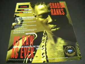 SHABBA RANKS an Epic career AS RAW AS EVER original 1991 ...