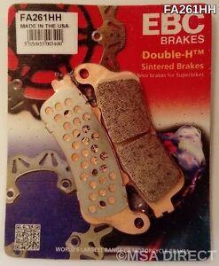 Honda CB1100 X11 (2000 to 2003) EBC Sintered REAR Brake Pads (FA261HH) (1 Set)