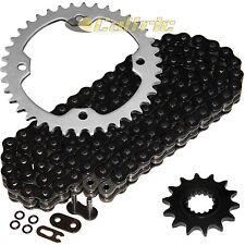 Black O-Ring Drive Chain & Sprockets Kit Fits YAMAHA RAPTOR 700 YFM700R 2006-16