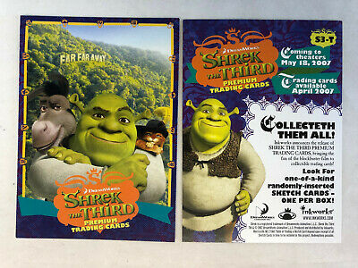 Collectibles Shrek The Third Promo Card S3 T Other Non Sport Trading Card Merchandise Wester Com Br