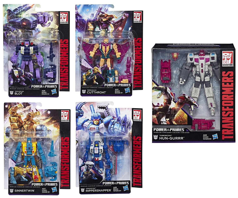 Transformers  TERRORCON ABOMINUS COMBINER SET  Sinnertwin, Blot, Cutthroat++