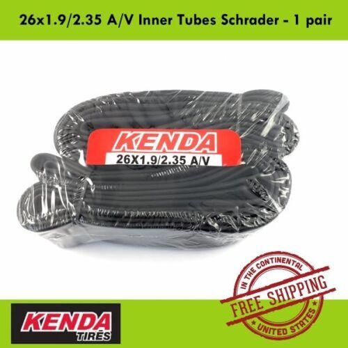 KENDA 26x1.9//2.35 A//V Inner Tubes Schrader//American MTB Bike 2pcs// 4pcs