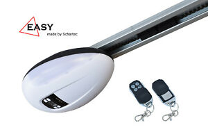 Garagentorantrieb-Easy-800-mit-Schiene-2x-Handsender-Torantrieb-800-N