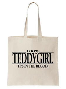 Teddygirl-Tote-Shoulder-Bag-Statement-Shopper-Gift-Funny-Music-Jazz-Rock-Fashion