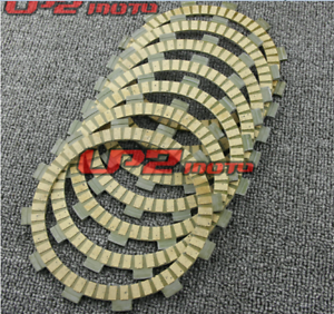 Clutch Friction Disc Plates Fits Yamaha TY250 D//E 1977-1978 RD350 A//B 1974-1975