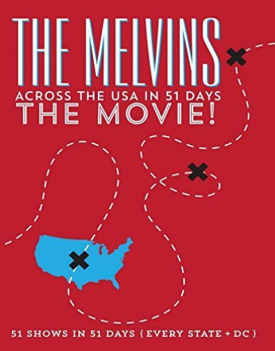Melvins: Across The Usa In 51 Days - The Movie  DVD NUOVO