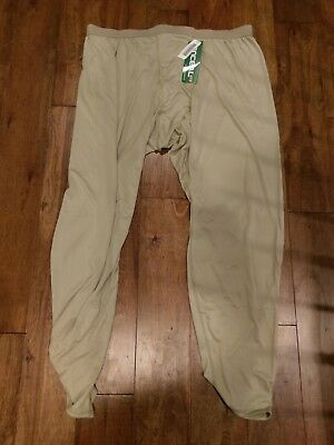 US MILITARY  LIGHTWEIGHT COLD WEATHER DRAWERS LARGE