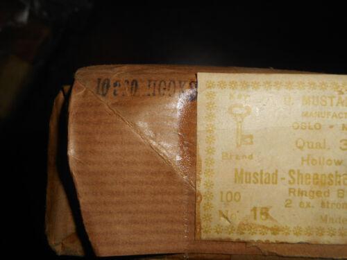 Angelsport-Köder, -Futtermittel & -Fliegen 10,000 MUSTAD no.16 Fly Thing Straight Sheepshead Hooks Ringed 2x Strong 3948