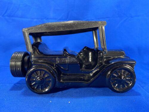 Vintage Avon Touring T Car Black After Shave Decanter Bottle EMPTY