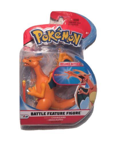 Pokemon Battle Caractéristique Figure Dracaufeu-Deluxe Action Dracaufeu-NEUF *